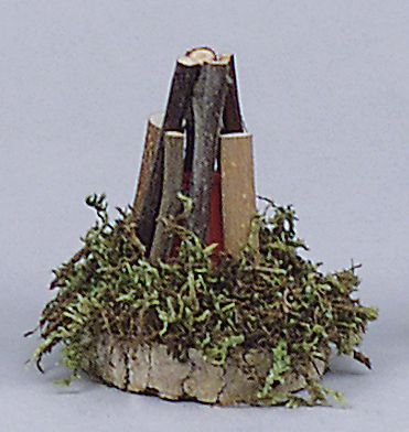 Lagerfeuer, Höhe 60 mm